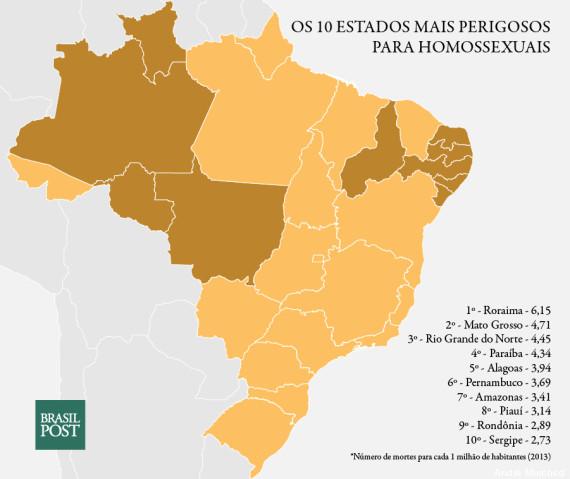 mapa gays