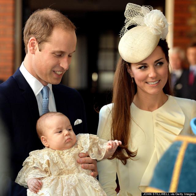 prince william kate middleton george