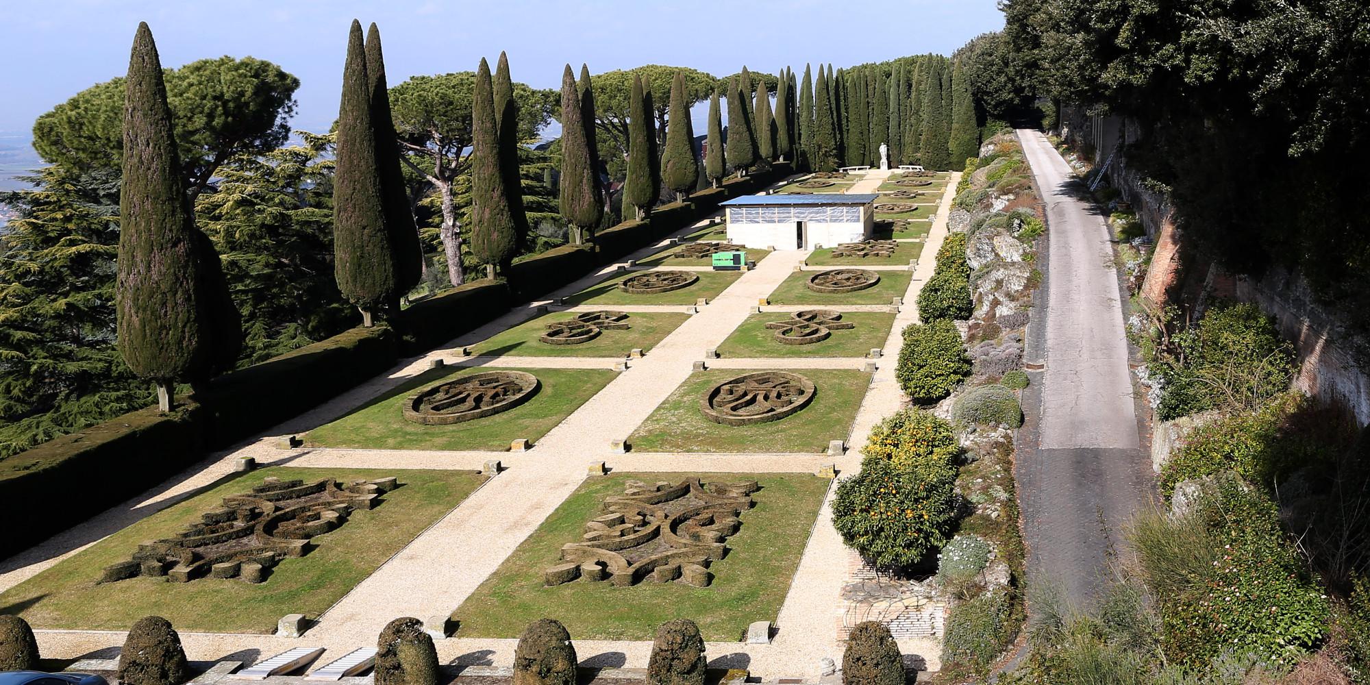 Pope Francis Opens Castel Gandolfo Barberini Gardens To