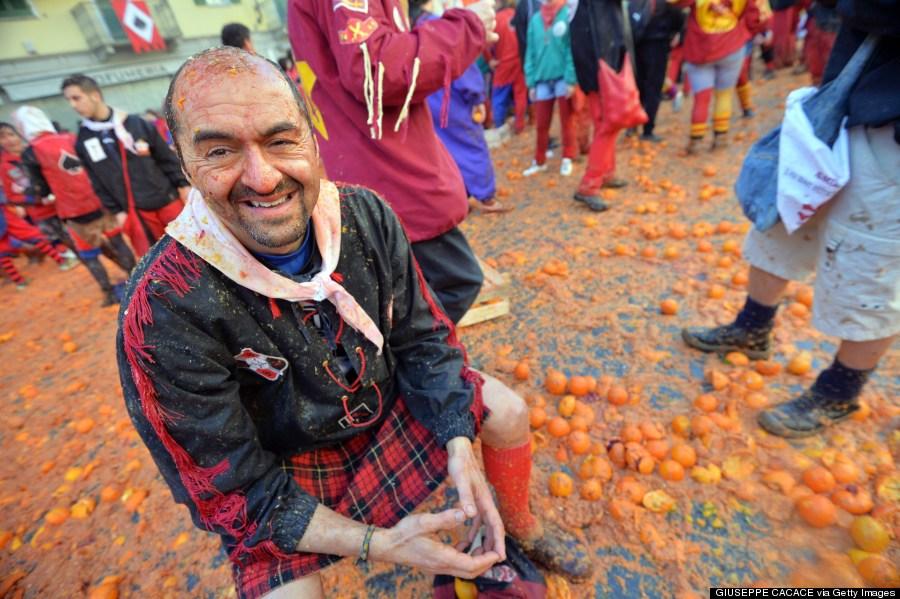 battle of the oranges