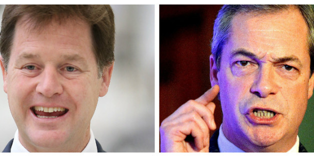Clegg is to debate Farage ahead of the European Elections in May