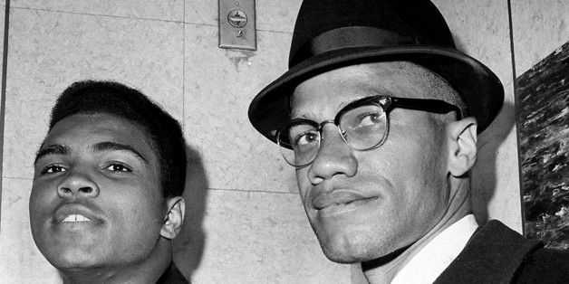 Muhammad Ali with Malcolm X in Chicago, 1964
