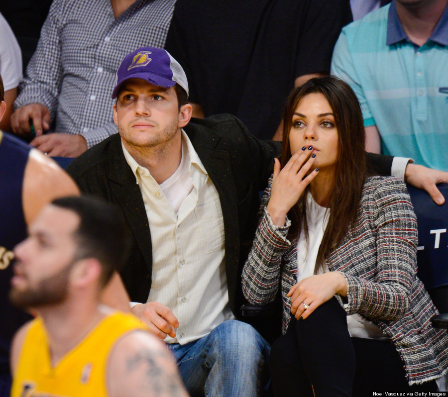 Mila Kunis Shows Off Engagement Ring With Ashton Kutcher PHOTOS