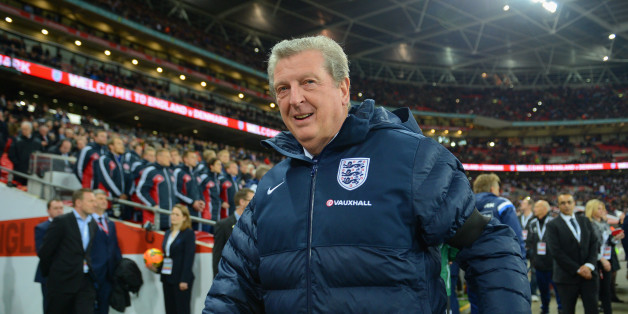 LONDON, ENGLAND - MARCH 05:  England manager Roy Hodgson looks on during the International Friendly match between England and Denmark at Wembley Stadium on March 5, 2014 in London, England.  (Photo by Michael Regan - The FA/The FA via Getty Images)
