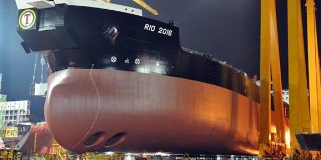 한국 조선업이 중국을 제치고 다시 세계 시장점유율 1위를 기록했다.