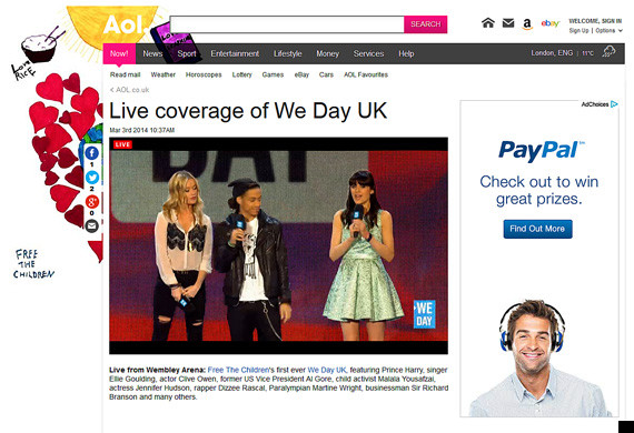 we day uk