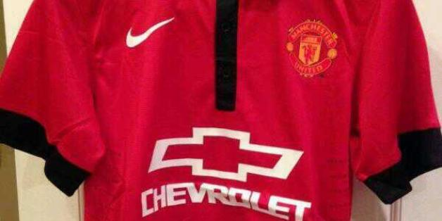 4e261a57d Manchester United 2014-15 Nike Chevrolet Shirt Leaked  (PICTURE ...