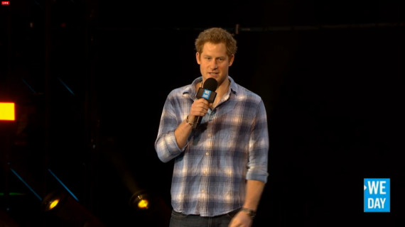 prince harry we day