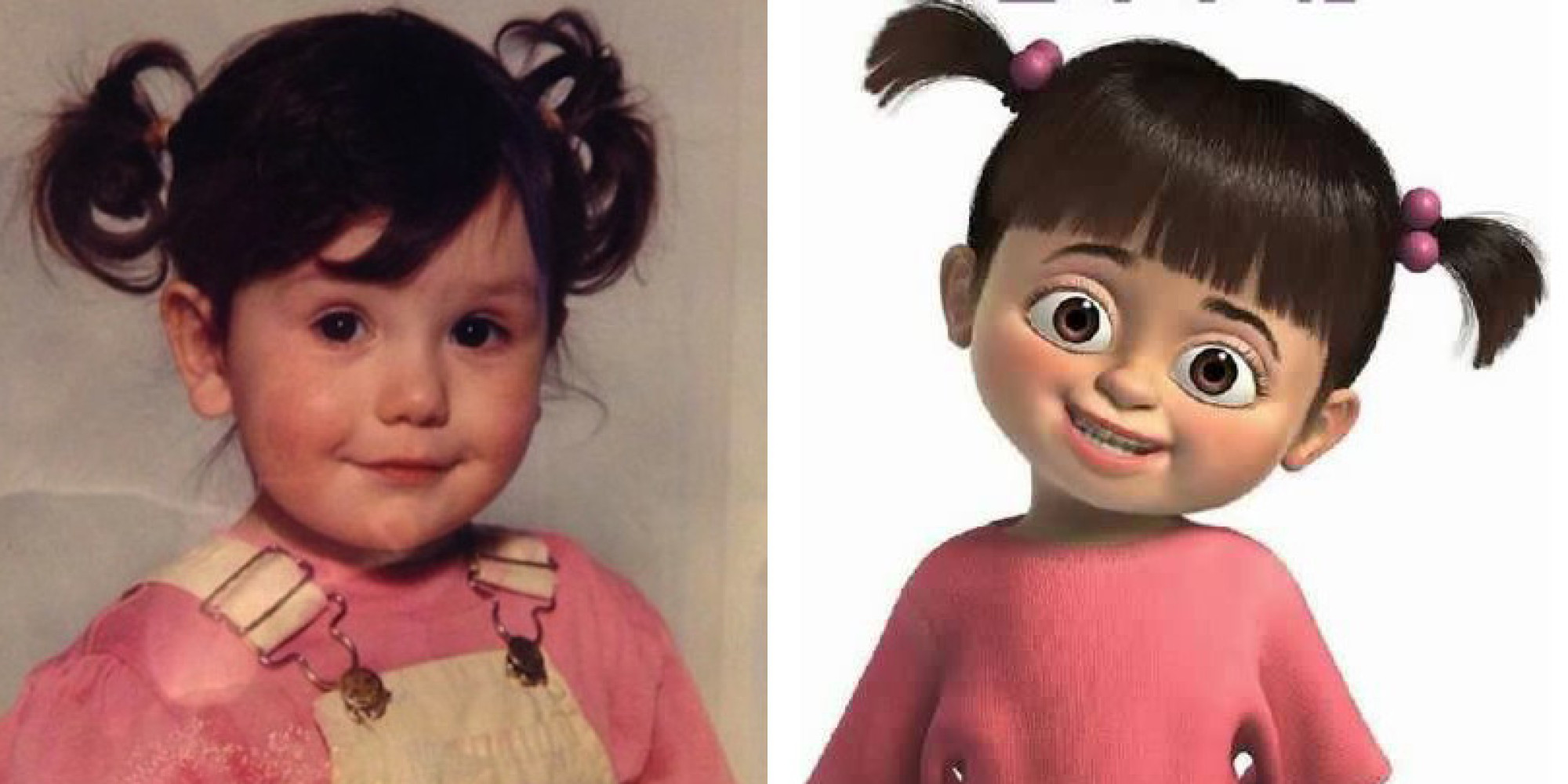 Uncategorized Monsters Inc Boo jwoww looked just like boo from monsters inc when she was a kid huffpost