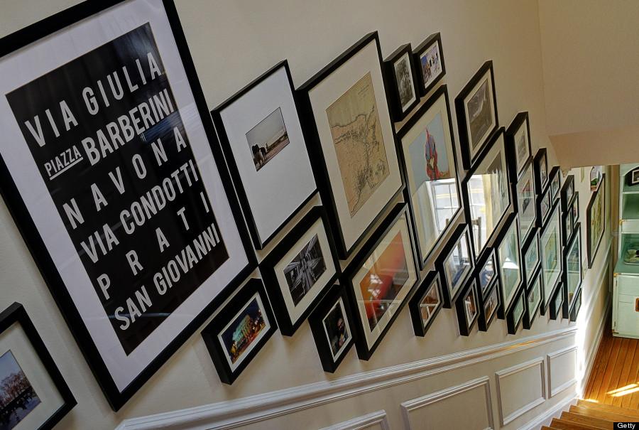 Decorar con fotografías: 13 ideas para lucir todas esas fotos que ...
