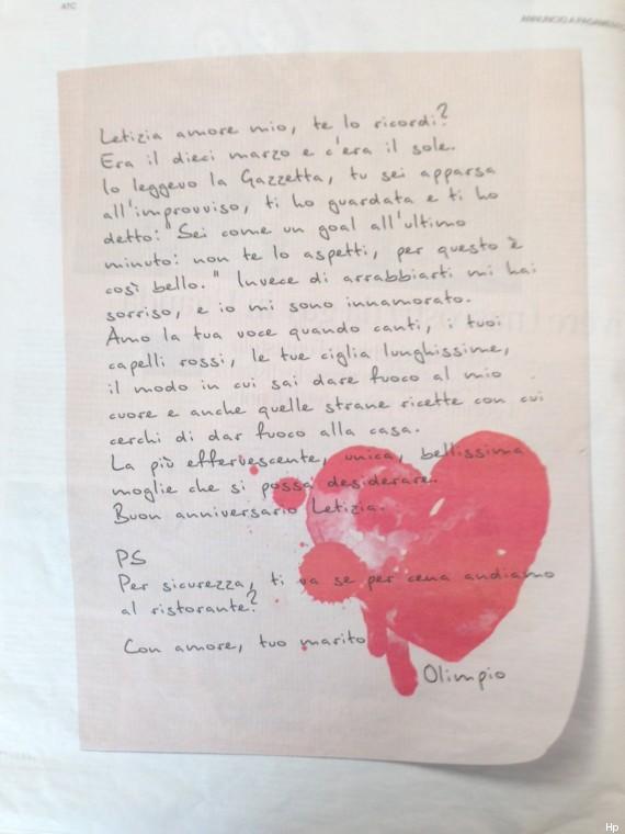 lettera corriere