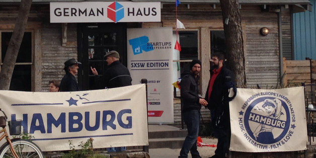 "Das ""German Haus"" beim Festival ""South by Southwest"""