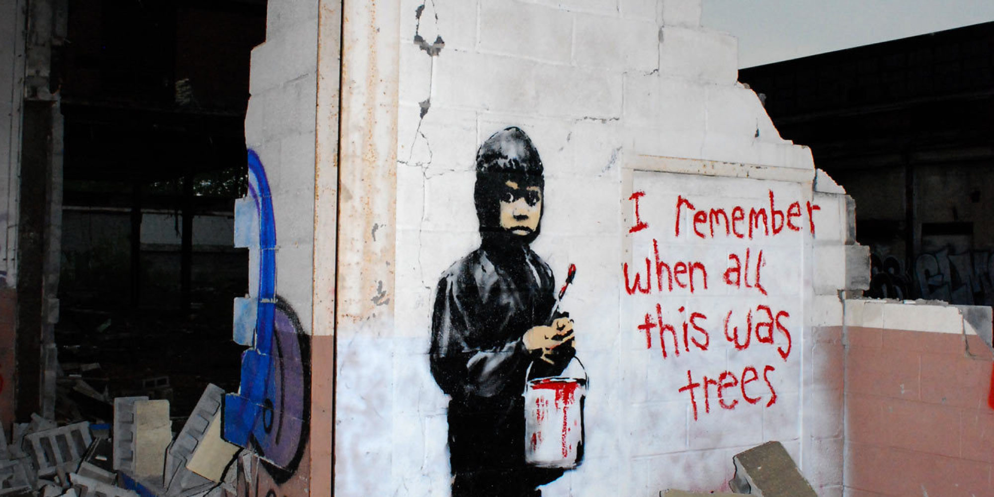 Detroit Gallery To Sell Controversial Banksy Mural It ...