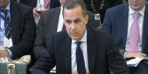 Bank of England governor Mark Carney speaking at the House of Commons Treasury Select Committee at, Portcullis House.