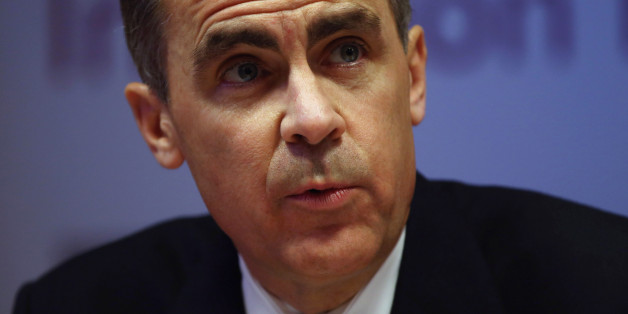 Governor of the Bank of England Mark Carney speaks during the bank's inflation report news conference in central London.