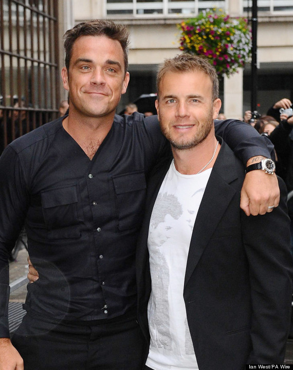 gary barlow robbie williams