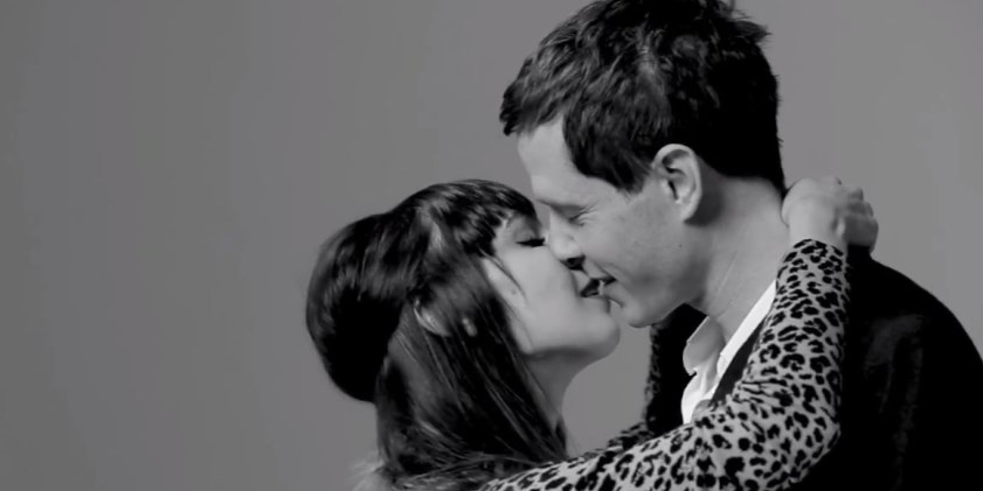 what happens when 20 strangers are paired off and asked to kiss