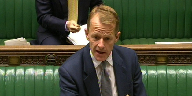 Schools minister David Laws makes a statement to MPs in the House of Commons, London, on the controversial Muslim free school, Al-Madinah free school in Derby.