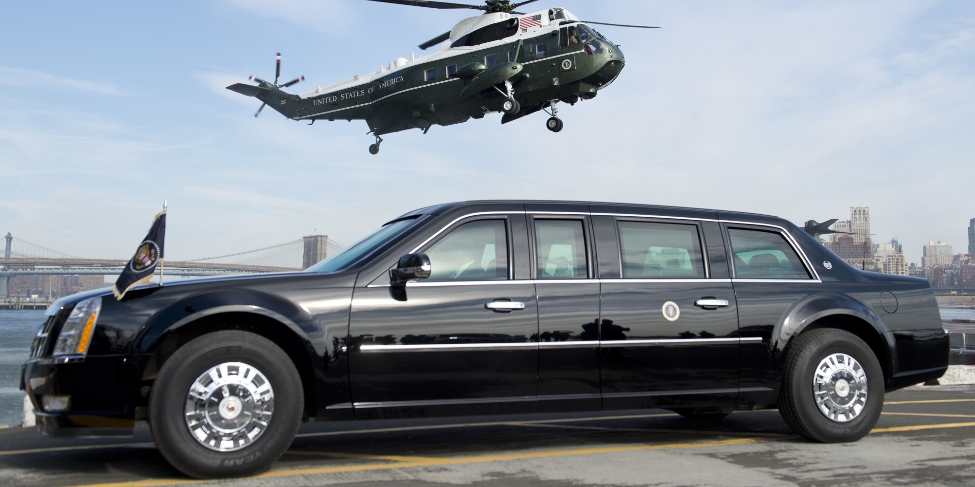 The Next U S President Can Expect A Brand New Limousine Huffpost