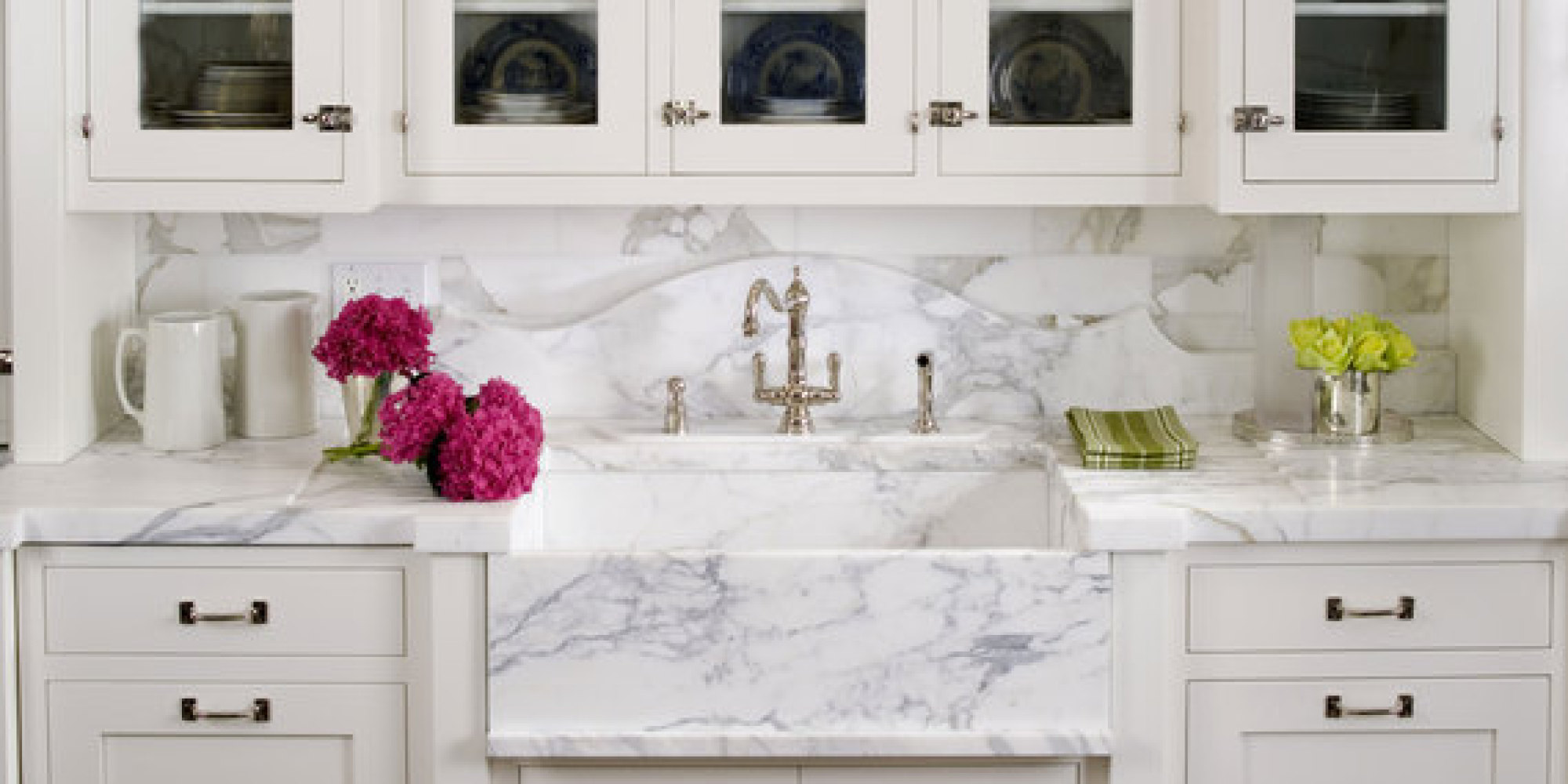 5 Tips to Create the Perfect White Kitchen | HuffPost