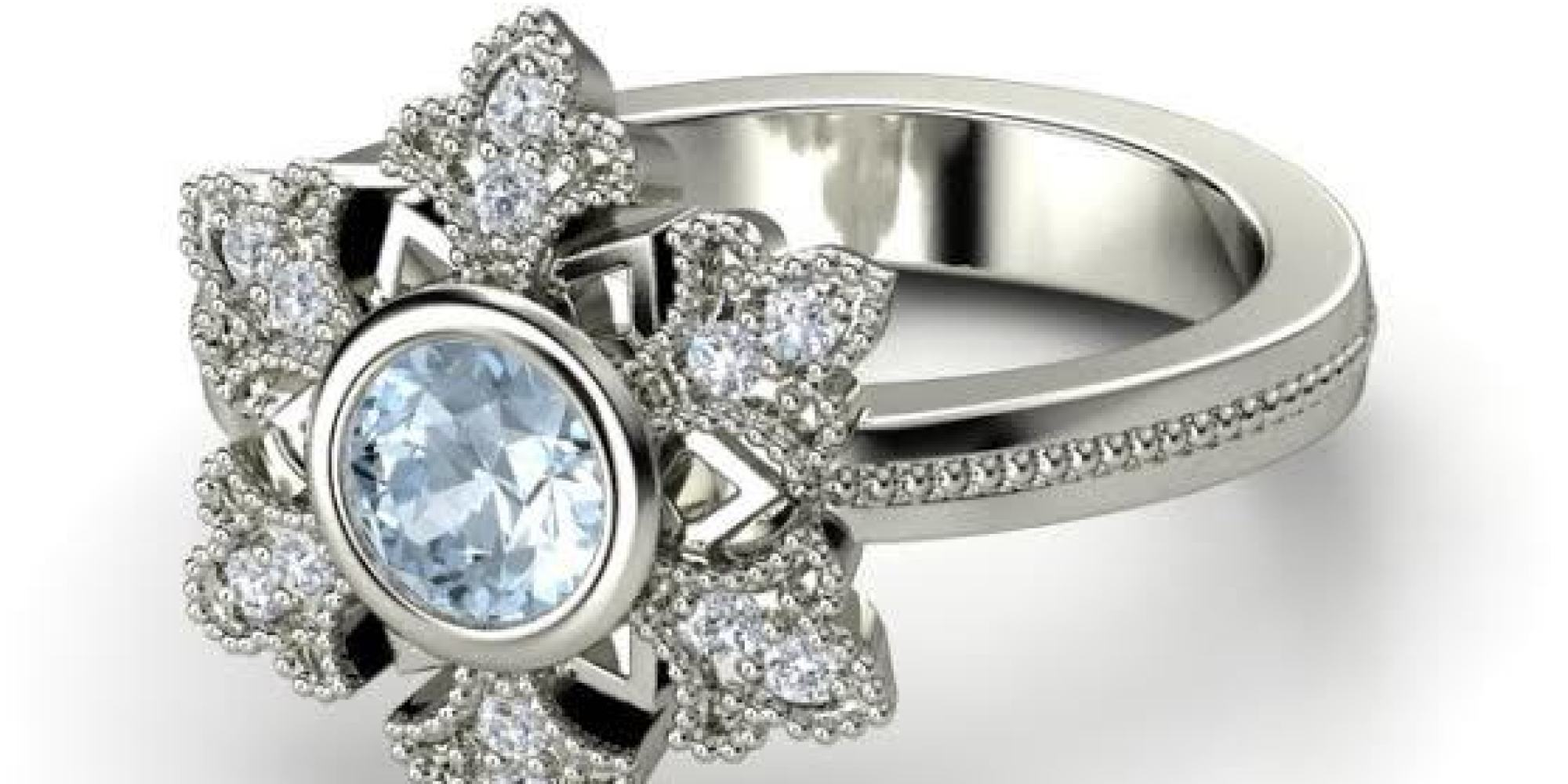 These Frozen Inspired Engagement Rings Are For Diehard Fans Only