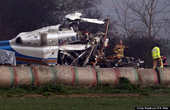 gillingham helicopter crash