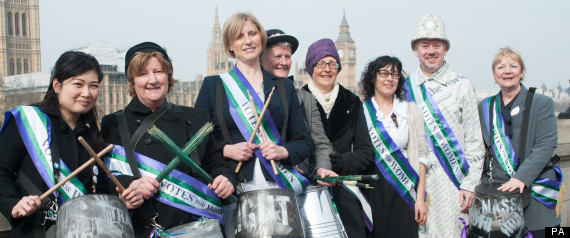 international womens day suffragettes
