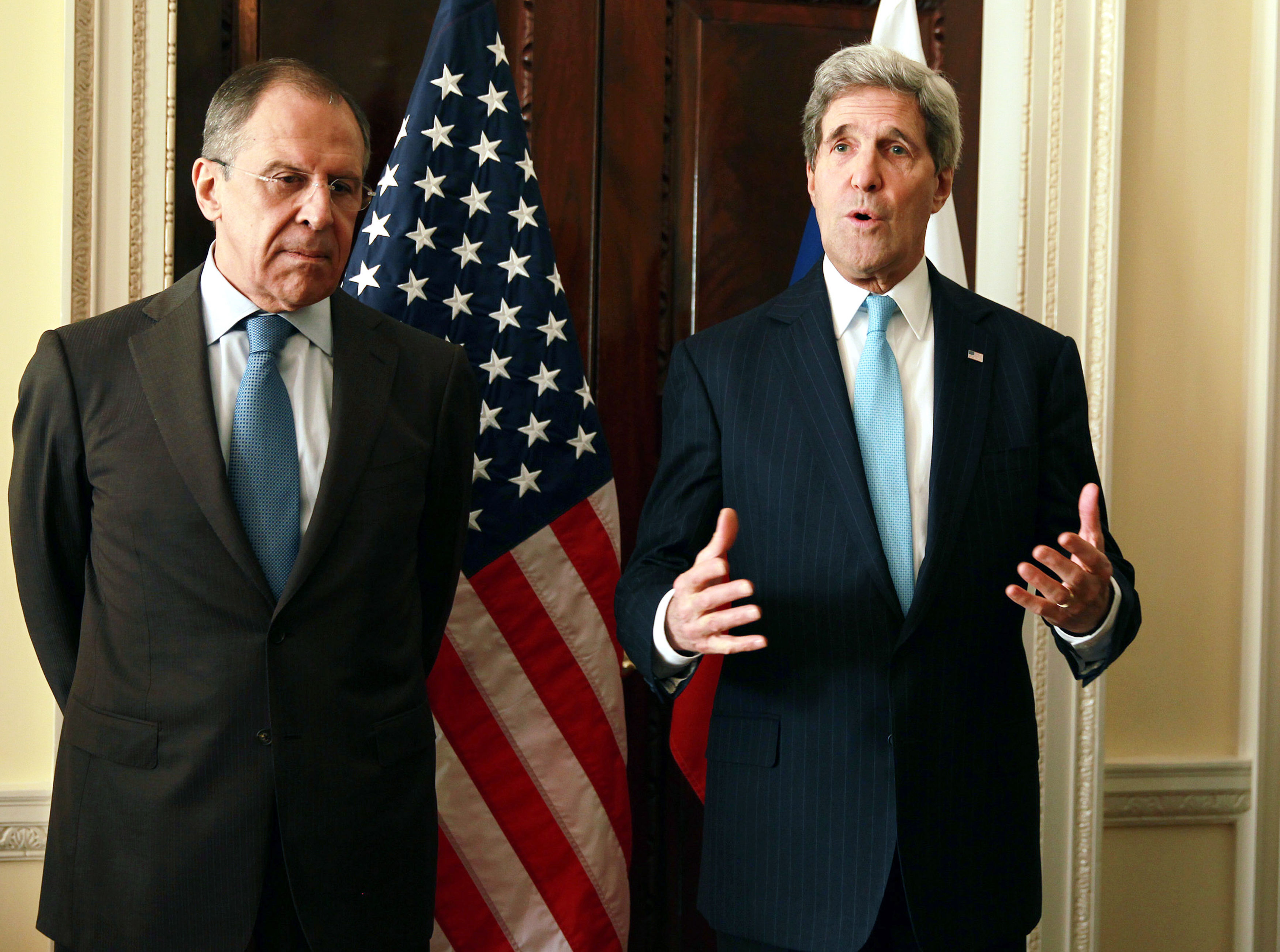 John Kerry And Sergey Lavrov's Crimea Meeting Ends With Cold Stares, Icy Words And No Deal