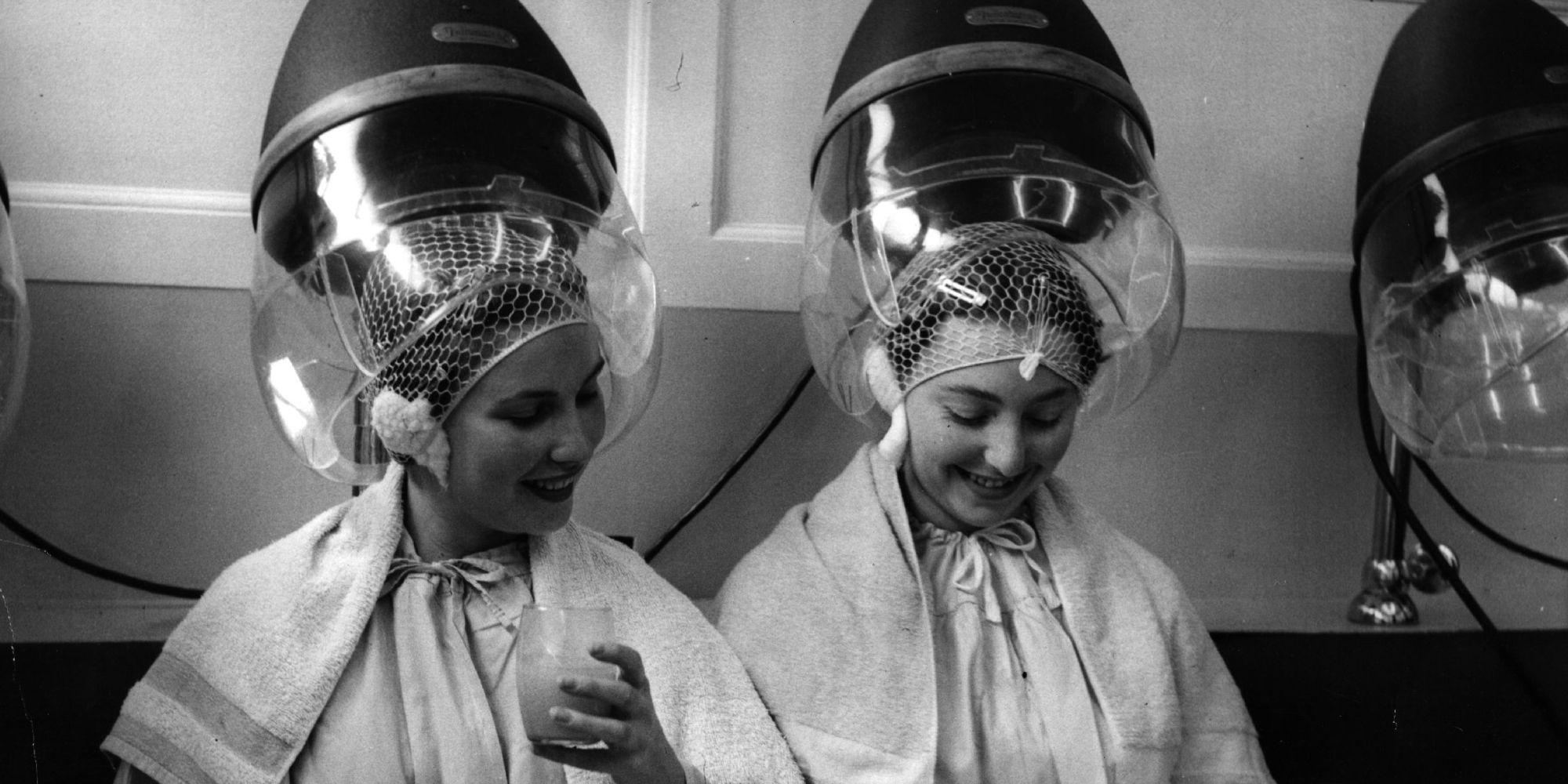 N Style Hair Salon Kernersville: These Vintage Hair Dryer Photos Make It Seem Cool Under