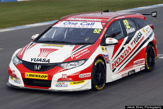 btcc honda civic tourer