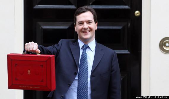 george osborne budget box
