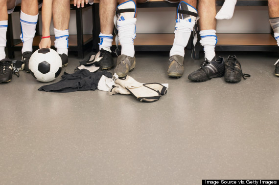 men changing room