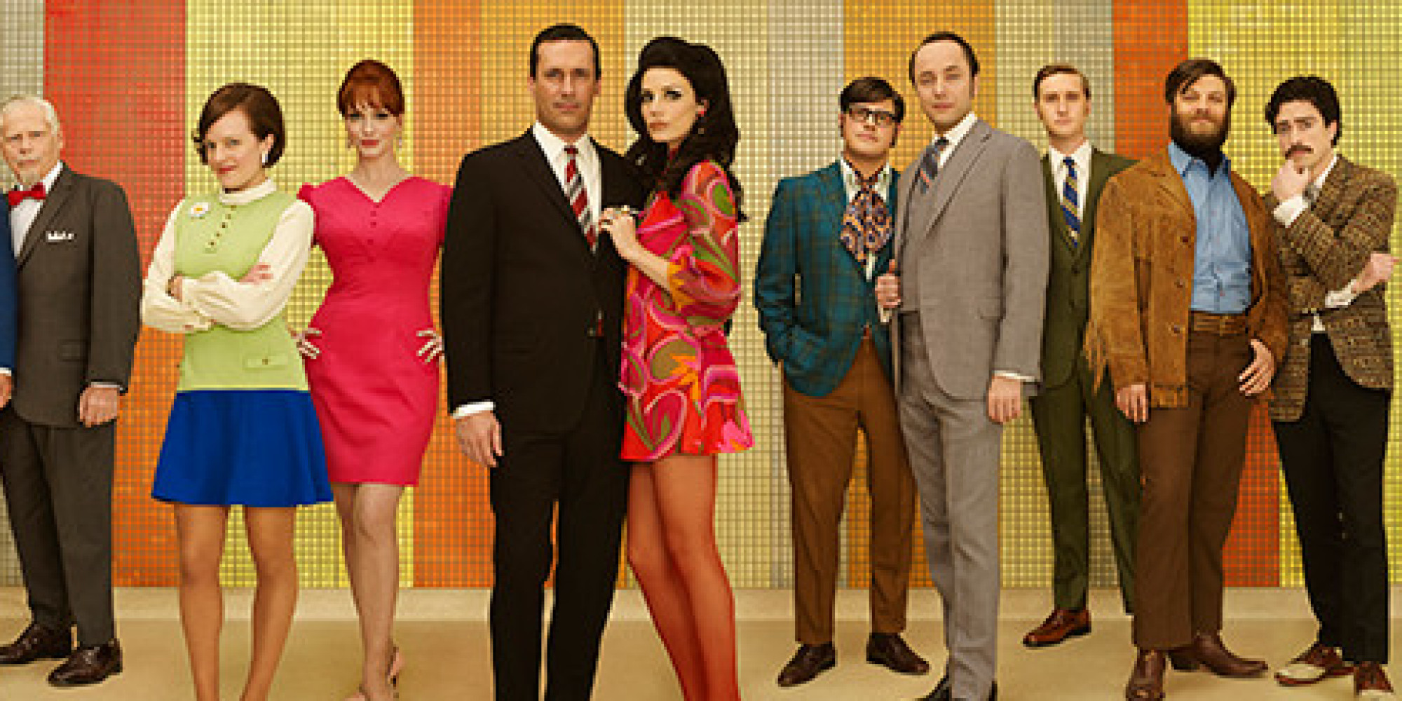 Mid Mod Costume Design - Mad Men Television Series