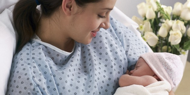 The Fairytale and Reality of New Motherhood