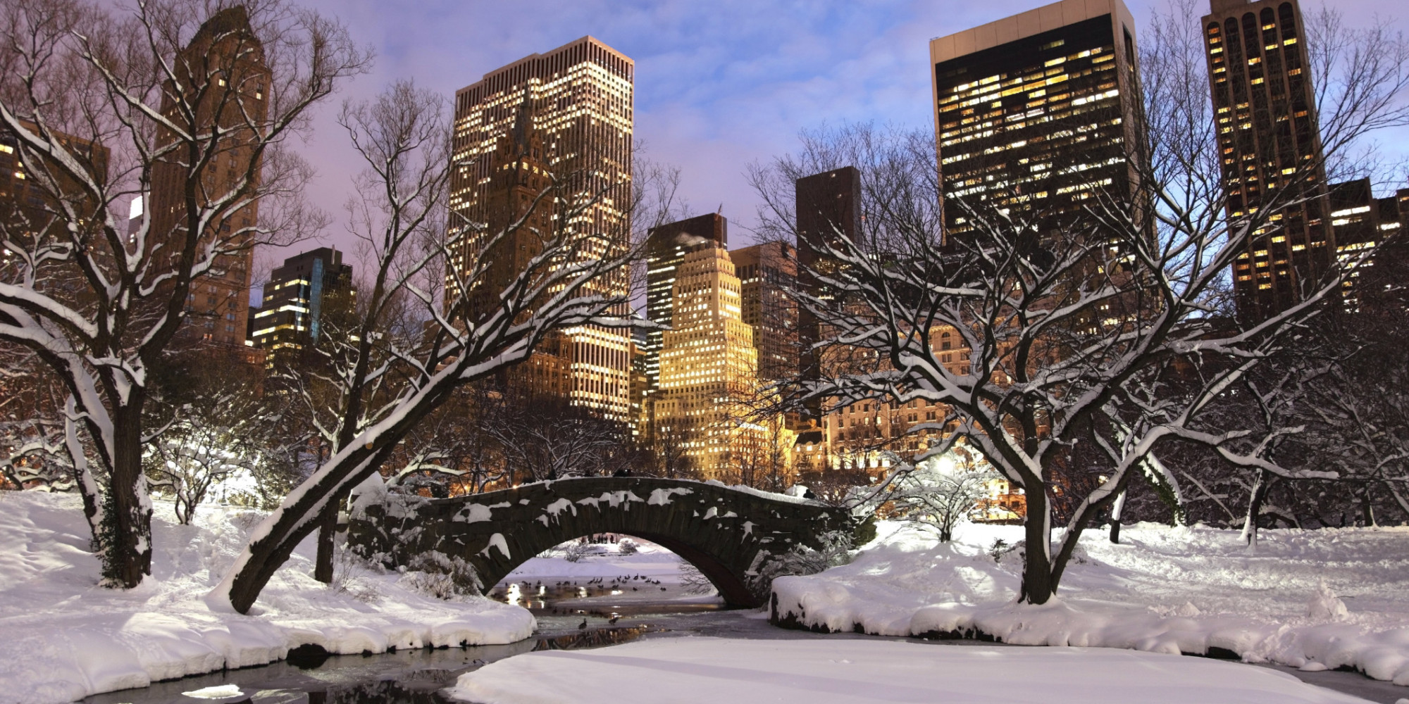That holiday feeling in nyc huffpost for Home holidays new york manhattan
