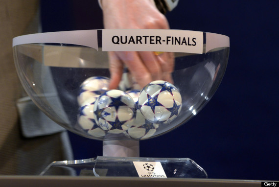 champions league quarter final draw