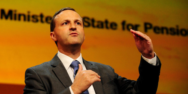 Minister for Pensions Steve Webb MP addresses the Liberal Democrat Annual Conference, at the ICC in Birmingham.