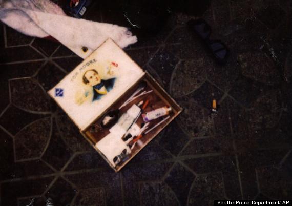 kurt cobain suicide pictures