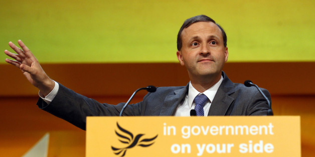 BIRMINGHAM, ENGLAND - SEPTEMBER 20:  Steve Webb MP, Minister of State for Pensions,  speaks at the Liberal Democrat Autumn Conference at the International Convention Centre (ICC) on September 20, 2011 in Birmingham, England. Pensions minister Steve Webb warned against pensions unlocking firms and said he will prioritise reducing charges levied on pension funds, in his speech at the parties annual conference.  (Photo by Matt Cardy/Getty Images)