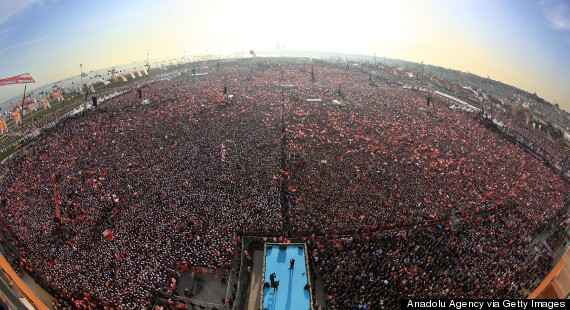 erdogan rally istanbul