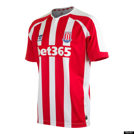 stoke city warrior home kit