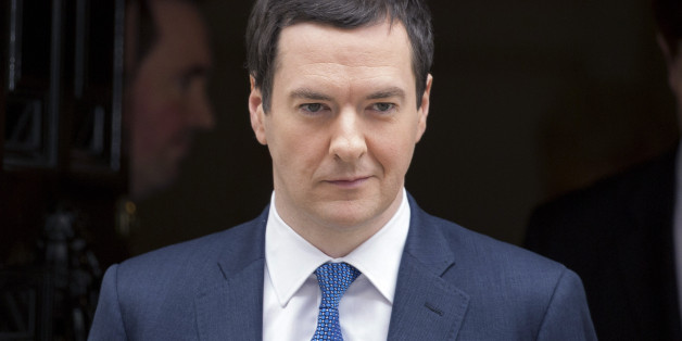 George Osborne, U.K. chancellor of the exchequer, reacts as he leaves 11 Downing Street in London, U.K., on Wednesday, March 19, 2014. Osborne will lay out a budget today focused on securing Britain's economic recovery and rebutting opposition Labour Party claims that he's ignoring the rising cost of living. Photographer: Jason Alden/Bloomberg via Getty Images
