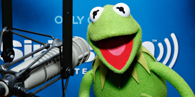 NEW YORK, NY - MARCH 18:  (EXCLUSIVE COVERAGE) Kermit the Frog visits the SiriusXM Studios on March 18, 2014 in New York City.  (Photo by Cindy Ord/Getty Images)