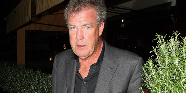 LONDON, UNITED KINGDOM - JULY 03: Jeremy Clarkson leaving Lou Lou's club on July 3, 2013 in London, England. (Photo by Mark Robert Milan/FilmMagic)