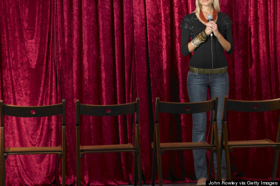 female comedian