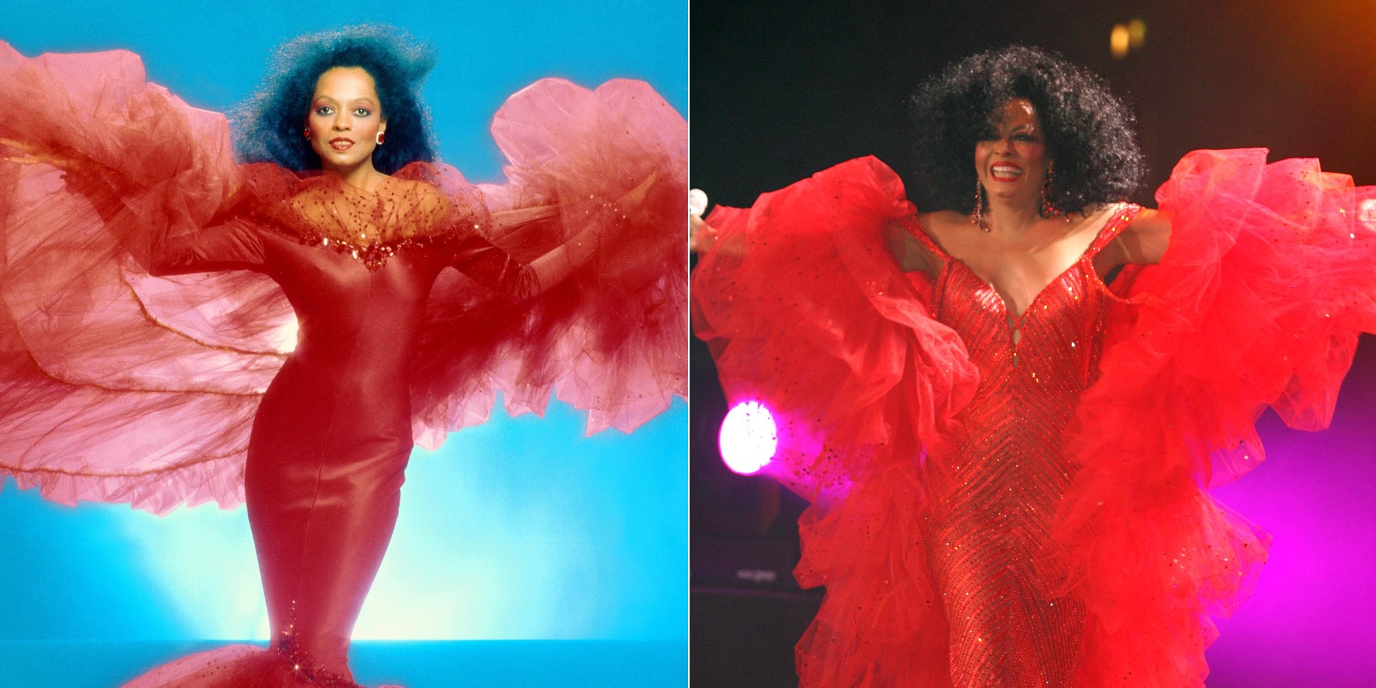 Diana Ross Turns 70 And She\'s Still A Total Diva, Sparkly Gowns And ...