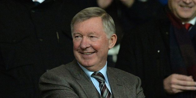 Ferguson at the derby on Tuesday night