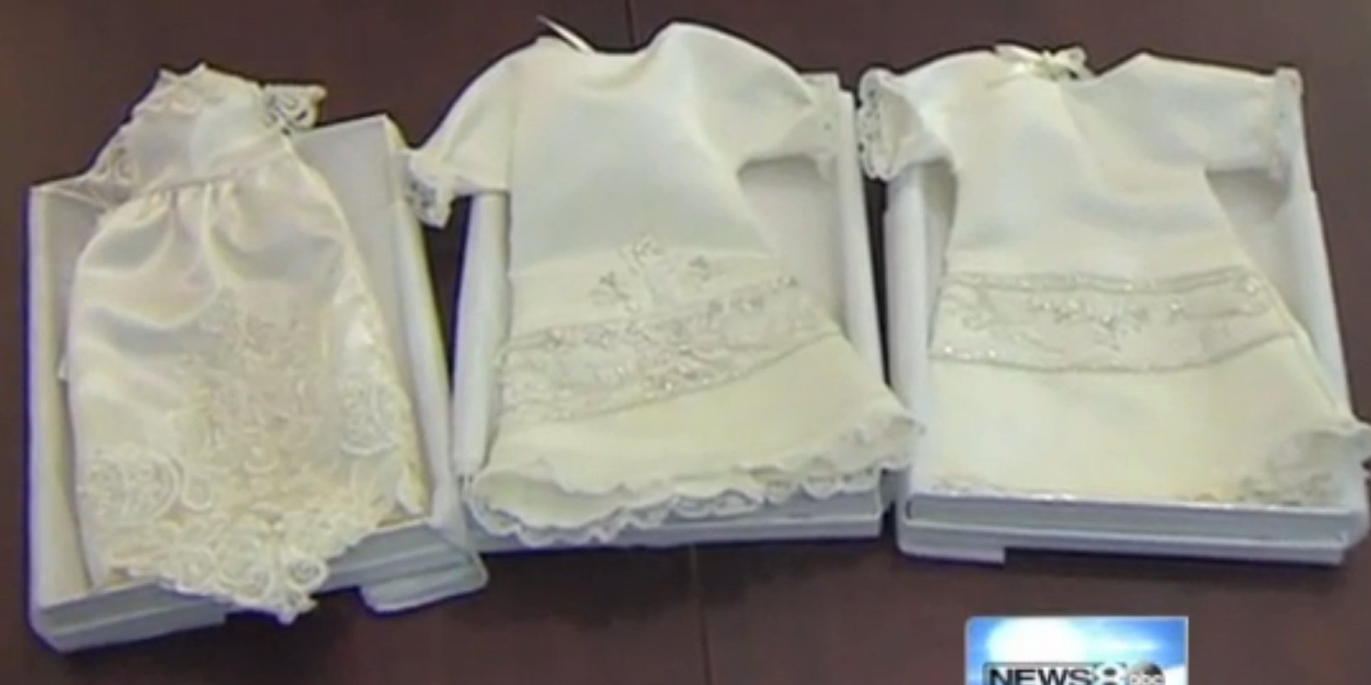 Woman Turns Wedding Dresses Into \'Angel Gowns\' For Newborns Who Don ...