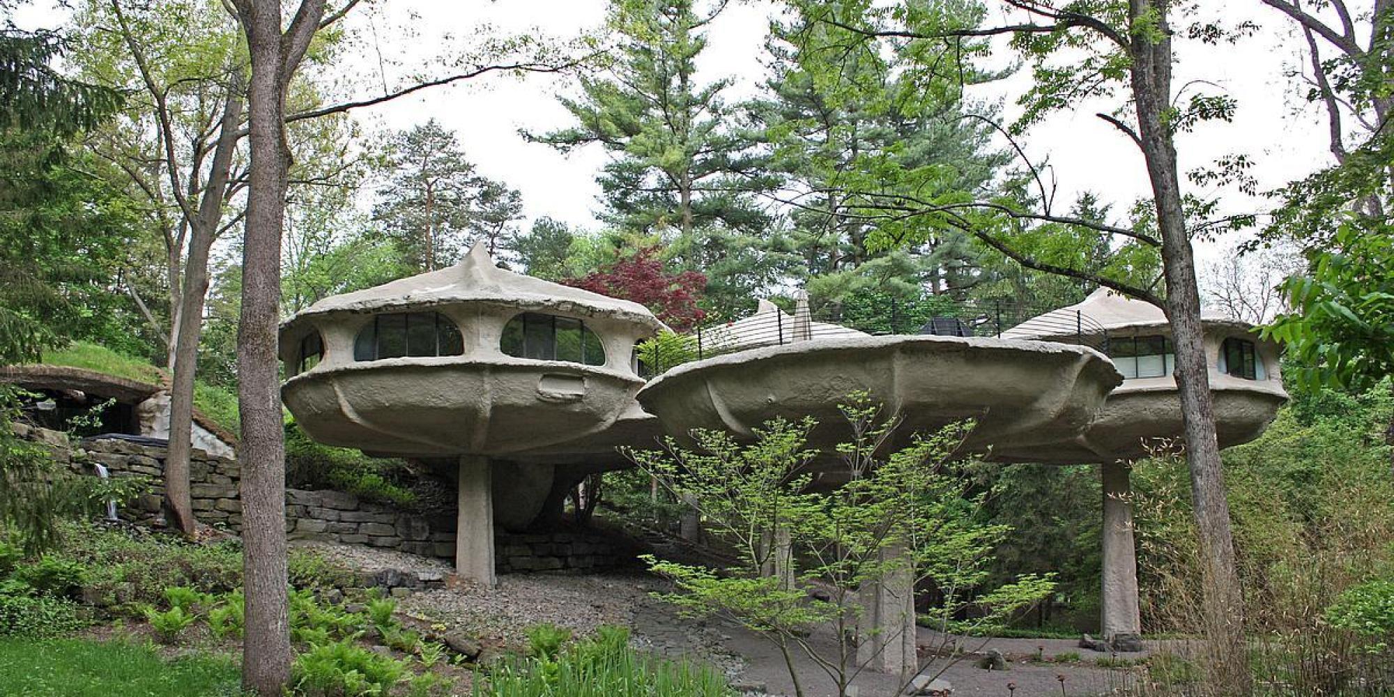 U0027The Mushroom Houseu0027 Is Unlike Any Home Youu0027ve Seen (PHOTOS)   HuffPost