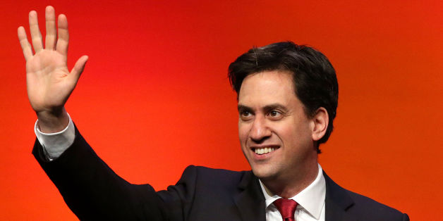 Labour leader Ed Miliband during his speech at the Scottish Labour Party conference at the Perth Concert Hall in Perth.